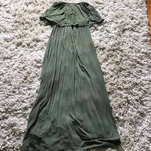 Wet seal strapless Maxi dress